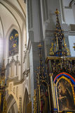 Church of St Josef in Krakow Poland Royalty Free Stock Photography