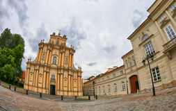 Church of St. Joseph of the Visitationists in Warsaw, Poland Stock Photography