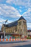 Church of St Julian in Tours in Loire Valley France. Church of St Julian in Tours in Indre et Loir department of Loire Valley, France Stock Photos