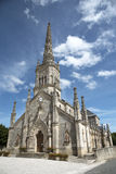 Church at St Julien Bordeaux France Royalty Free Stock Photo