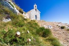 The church St. Jure. National park Biokovo (Croatia Royalty Free Stock Photo