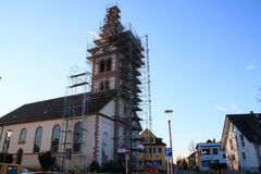Church St. Katharina Baden-Baden Sandweier Royalty Free Stock Photo
