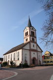 Church st. katharina Sandweier Stock Photo