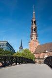 Church St Katharinen Hamburg Royalty Free Stock Image