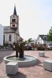 Church st. katherina Sandweier Royalty Free Stock Photos