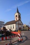 Church st. katherina Sandweier Stock Images