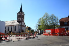 Church st. katherina Sandweier Royalty Free Stock Images