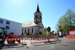 Church st. katherina Sandweier Royalty Free Stock Photo