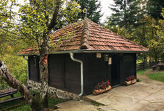 Church of St. King Lazar near Prolom Banja.  Serbia Royalty Free Stock Photo
