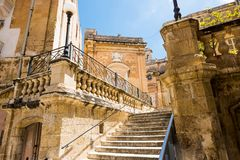 Church of St. Lawrence in Valletta Stock Images