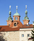 The Church of St. Lawrence (Vavrinec). Petrin Hill. Prague. Czech Republic Royalty Free Stock Photography