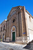 Church of St. Leonardo. Lucera. Puglia. Italy. Stock Photography
