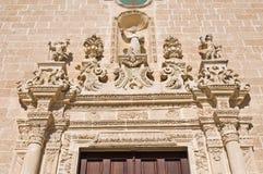 Church of St. Leonardo. Manduria. Puglia. Italy. Royalty Free Stock Photography