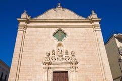 Church of St. Leonardo. Manduria. Puglia. Italy. Stock Images