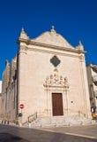 Church of St. Leonardo. Manduria. Puglia. Italy. Royalty Free Stock Photos