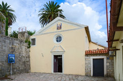 Church of St. Leopold Mandic, Herceg Novi, Montenegro Stock Photos