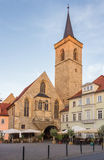 Church st. Lorenz in Erfurt, Germany Royalty Free Stock Photography