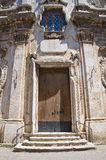 Church of St. Lorenzo. San Severo. Puglia. Italy. Royalty Free Stock Photography