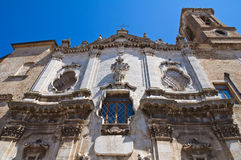 Church of St. Lorenzo. San Severo. Puglia. Italy. Stock Image
