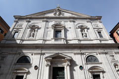 The Church of St. Louis of the French in Rome Stock Photo