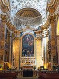 The Church of St. Louis of the French, Rome, Italy Stock Photography