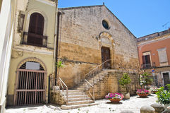 Church of St. Lucia. Brindisi. Puglia. Italy. Royalty Free Stock Photo