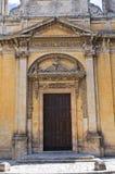 Church of St. Lucia. Manduria. Puglia. Italy. Stock Images