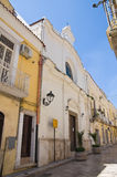 Church of St. Lucia. San Severo. Puglia. Italy. Stock Image