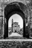 Church of St. Lucia to St. Giovanni in Marignano Stock Images