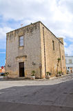 Church of St. Lucia. Tricase. Puglia. Italy. Stock Image