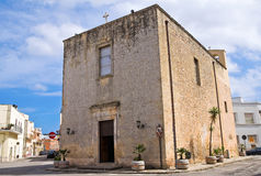 Church of St. Lucia. Tricase. Puglia. Italy. Royalty Free Stock Photo