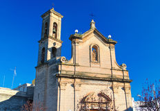 Church of St. Luigi. Bitritto. Puglia. Italy. Royalty Free Stock Images