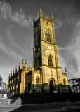 Church of St Luke in Liverpool, UK stock photo