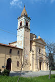 Church of St. Mamante in Liano Royalty Free Stock Photos