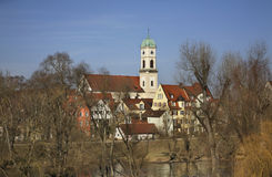 Church of  St. Mang in Regensburg. Bavaria. Germany Stock Image