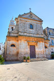 Church of St. Maria Addolorata. Locorotondo. Puglia. Italy. Stock Image