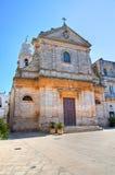 Church of St. Maria Addolorata. Locorotondo. Puglia. Italy. Stock Image