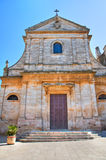 Church of St. Maria Addolorata. Locorotondo. Puglia. Italy. Stock Photos