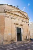 Church of St. Maria alla Porta. Lecce. Puglia. Ita Stock Photos