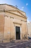 Church of St. Maria alla Porta. Lecce. Puglia. Ita Stock Photos