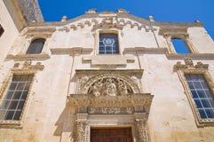 Church of St. Maria degli Angeli. Lecce. Puglia. Italy. Royalty Free Stock Image
