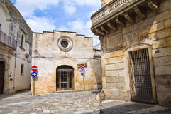 Church of St. Maria del Tempio. Tricase. Puglia. Italy. Stock Photography