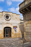 Church of St. Maria del Tempio. Tricase. Puglia. Italy. Stock Photo