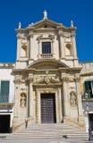 Church of St. Maria della Grazia. Lecce. Puglia. Italy. Stock Images