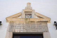 Church of St. Maria della Pieta. San Severo. Puglia. Italy. Royalty Free Stock Photos