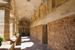 Church of St. Maria delle Grazie. Manduria. Puglia. Italy. Royalty Free Stock Photo