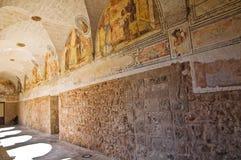 Church of St. Maria delle Grazie. Manduria. Puglia. Italy. Stock Image