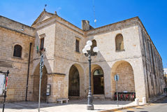 Church of St. Maria delle Grazie. Manduria. Puglia. Italy. Royalty Free Stock Photos