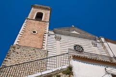Church of St. Maria delle Grazie. Sant'Agata di Puglia. Italy. Stock Photography