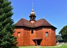 Church of St. Maria Karmelska in Karolinka Royalty Free Stock Photos